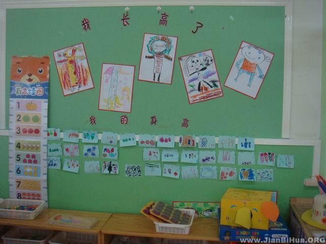 幼儿园大班墙面布置:郊游