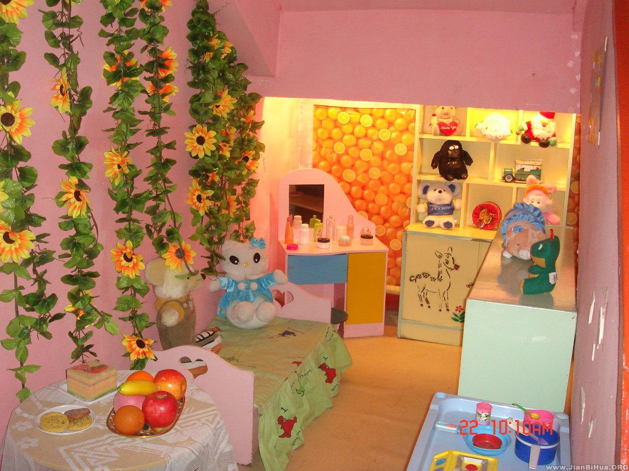 区角环境:植物角 幼儿园环境布置图片