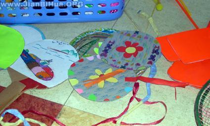幼儿园美工区布置图片大全第5张