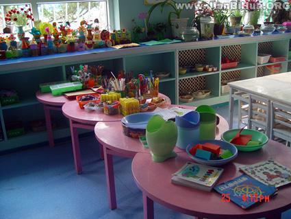 幼儿园美工区布置图片大全(第13张)