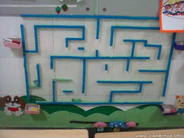 幼儿园大班益智区图片
