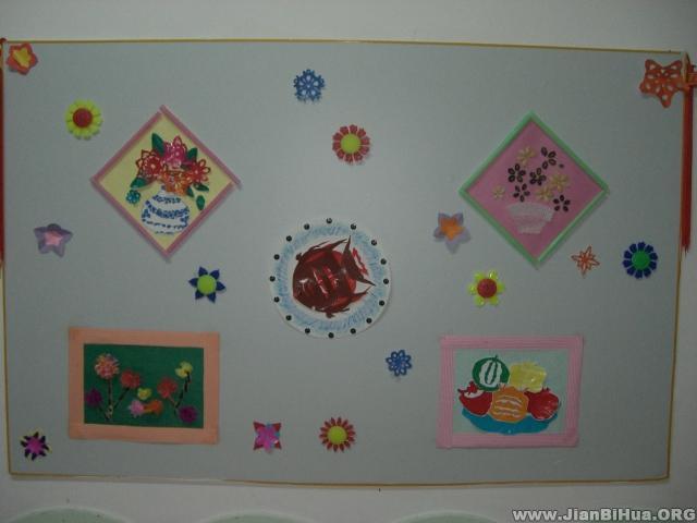 幼儿园美工区布置图片大全(第2张)