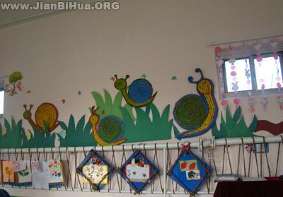 幼儿园教室室内设计图片_幼儿园布置网