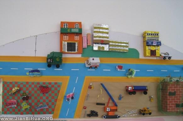 幼儿园墙面设计图片 周边环境