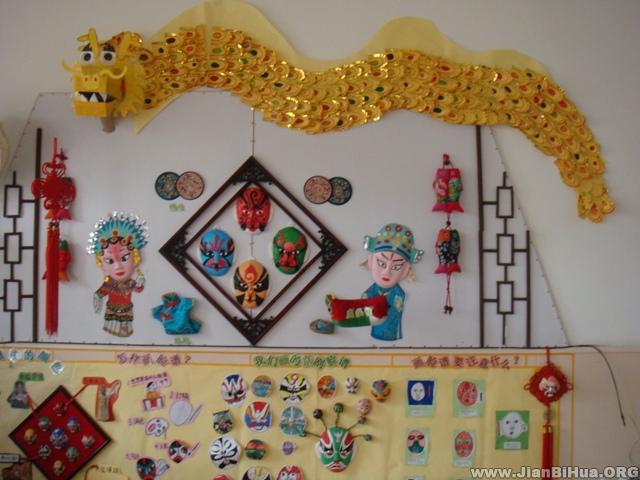 幼儿园大班墙壁设计图片展示