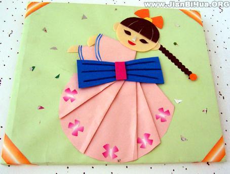 作品 布置 朝鲜舞/幼儿园墙饰布置作品:朝鲜舞