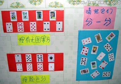 幼儿园墙面设计图片:图案分类