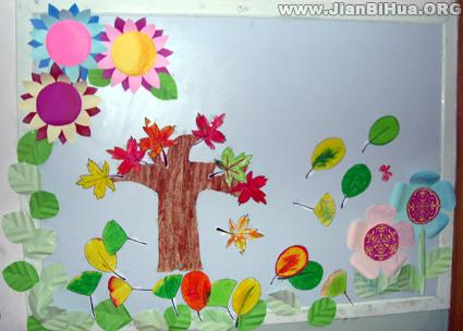 幼儿园小班墙面布置图片(第12张)