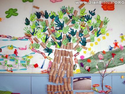 幼儿园中班墙面布置图片(第4张)