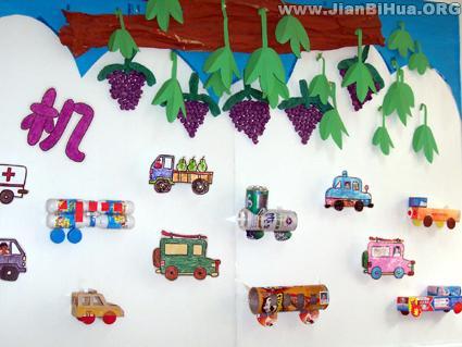 幼儿园中班墙面布置_幼儿园中班墙面布置图片(第8张)