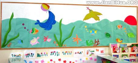 幼儿园中班墙面布置_幼儿园中班墙面布置图片(第11张)