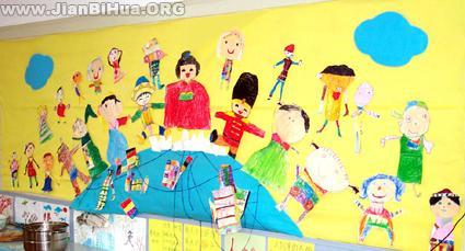 幼儿园主题墙饰边框_第7页_画画大全