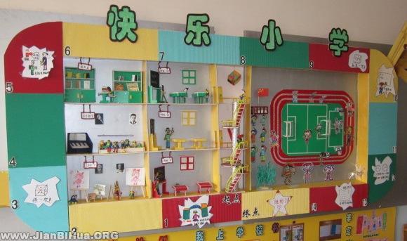 小学主题墙饰设计图片