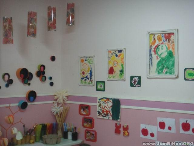 幼儿园美工区布置图片大全(第3张)