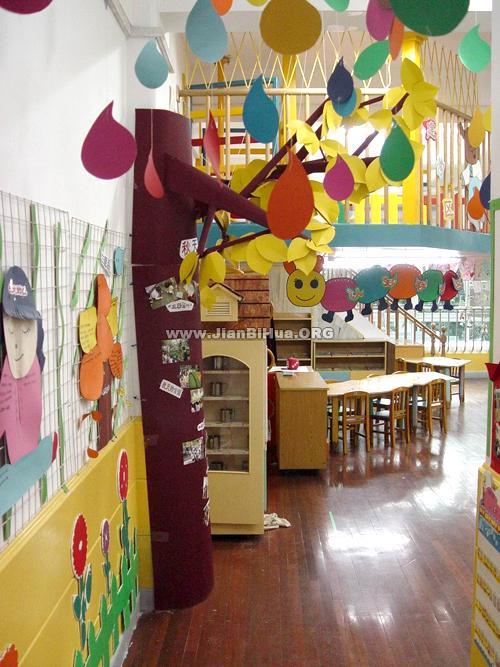 幼儿园室内环境布置:教室一角