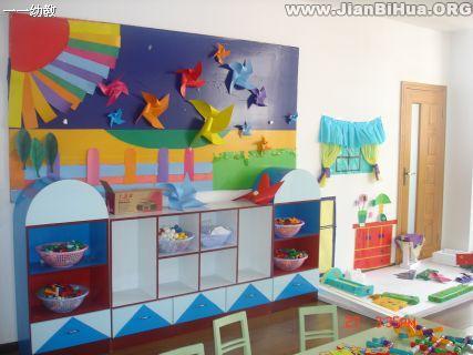 幼儿园盥洗室图片_幼儿园室内环境布置图片大全(第6张)