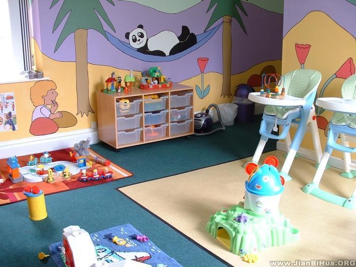 幼儿园室内环境布置图片大全(第7张)