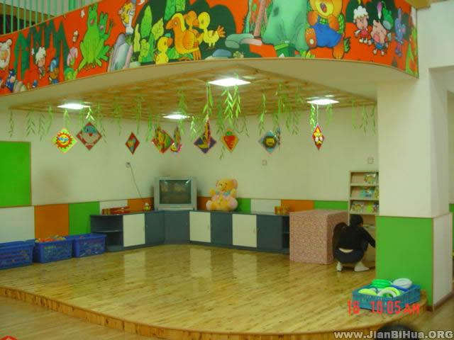 幼儿园教室布置图片:教室一角图片