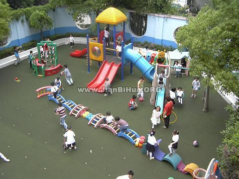 幼儿园户外游戏区布置图片大全(第2张)