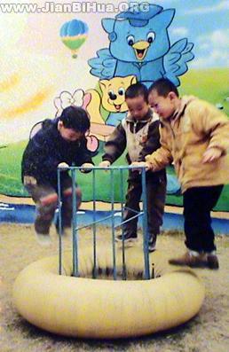 幼儿园/幼儿园游戏场景环境布置图片