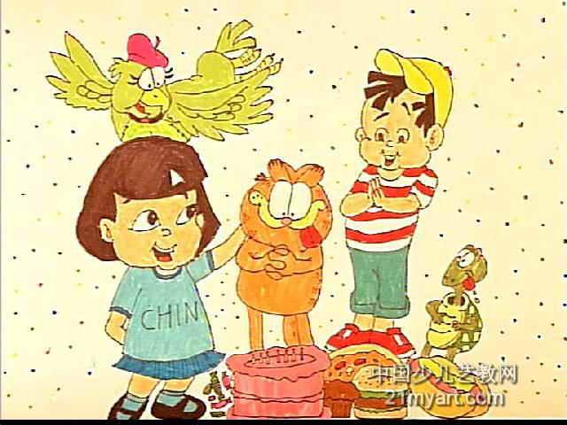 排排队儿童画2幅 祖国的明天更美好儿童