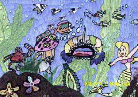 儿童画 儿童水彩画