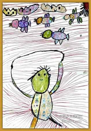 跳绳儿童画10幅 第2张