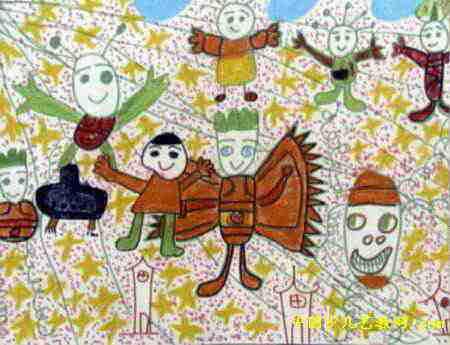 宽450px,作者常昕,来自安阳市钢铁公司六区幼儿园,男,5岁.