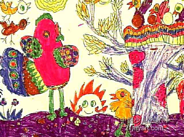 幼儿园水彩动物画图片大全