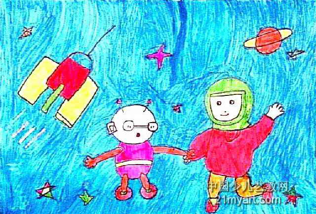 好朋友儿童画(一)6幅(第4张)