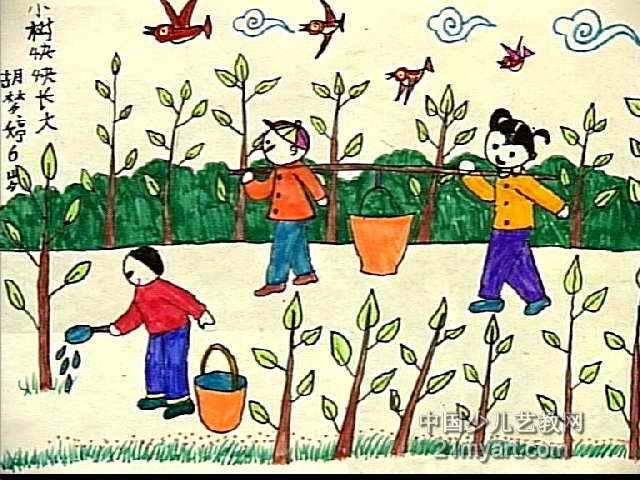 简笔画一颗大树图片大全下载; 水彩画素描树的图片大全下载; 小树快快