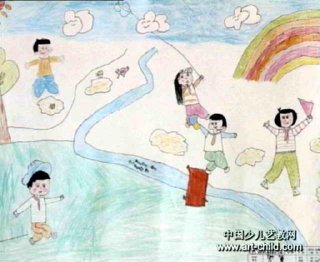 快乐的节日儿童画7幅(第3张)
