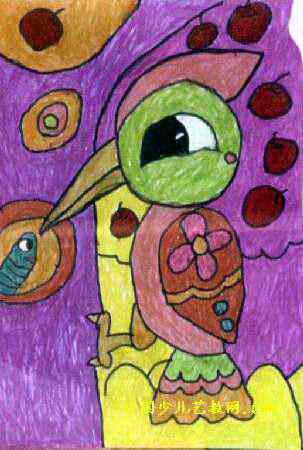 森林医生儿童画3幅(第2张)