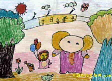 节日音乐会儿童画