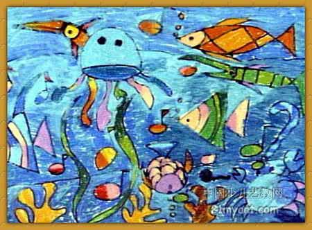 三年级海底世界图画图片展示_三年级海底世界图画相关图片下载