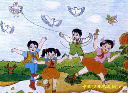 快乐童年儿童画9幅(第3张)