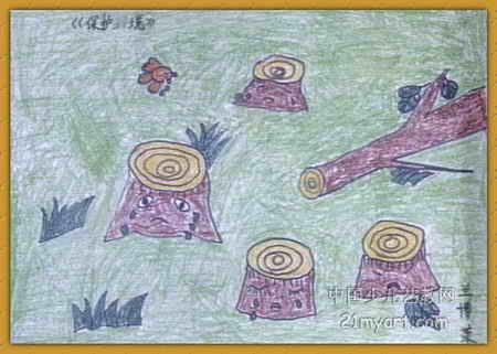 保护环境 ,爱护家园的简笔画