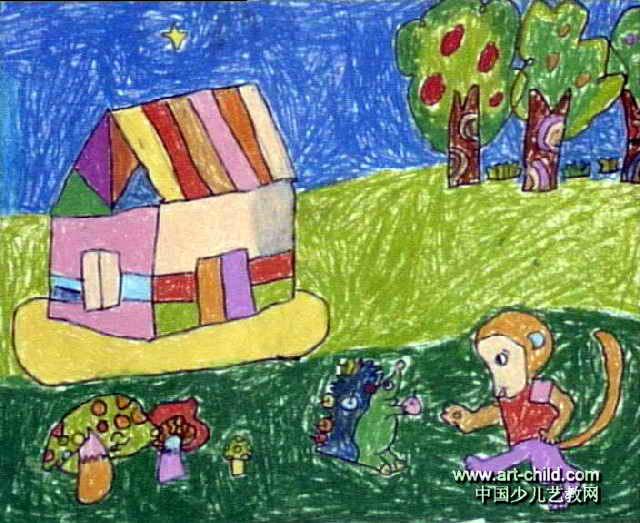 保护环境儿童画12幅 第11张