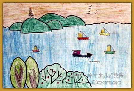 江南美儿童画属于油画棒画