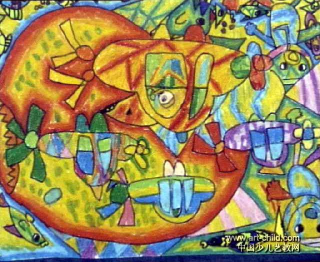 海底探险儿童画15幅(第5张)