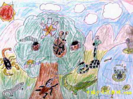 动物乐园儿童画15幅