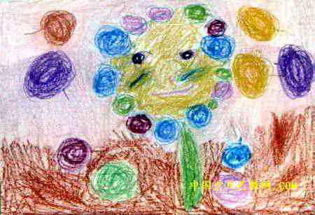 果树妈妈与娃娃儿童画