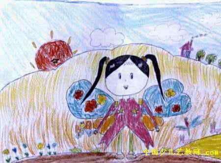 我的梦想儿童画 二 5幅 第3张