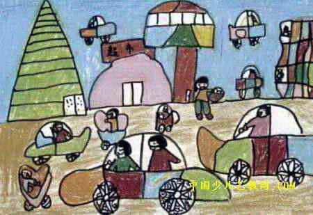梦幻世界儿童画3幅(第2张)