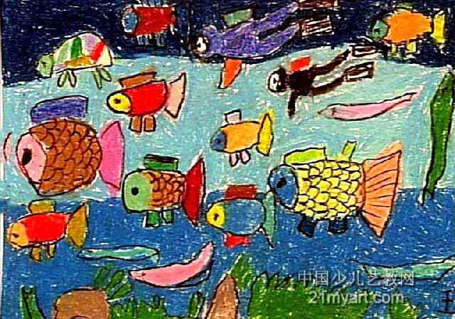 海第世界儿童画