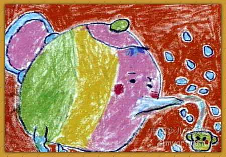 大茶壶儿童画图片