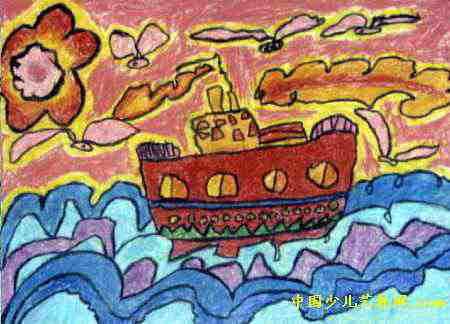 美景油画棒儿童画