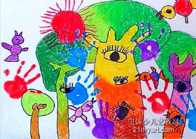 童心儿童画作品欣赏