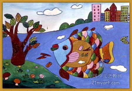 保护环境儿童画12幅 第6张