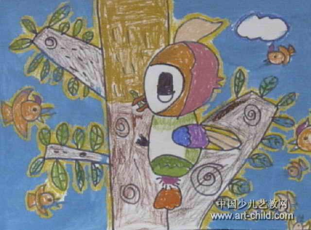 森林医生儿童画6幅(第5张)